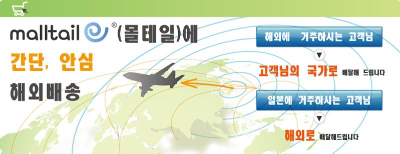 韓国語 海外発送案内