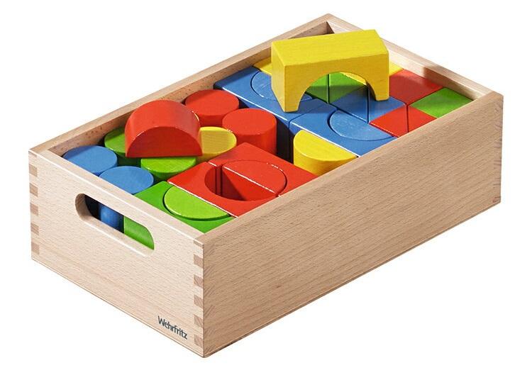 WF025204 WEHRFRITZ ベルフリッツ 保育積木・カラー・ハウスセット積木 ブロック 知育 遊び 知育玩具ギフト プレゼント 誕生日