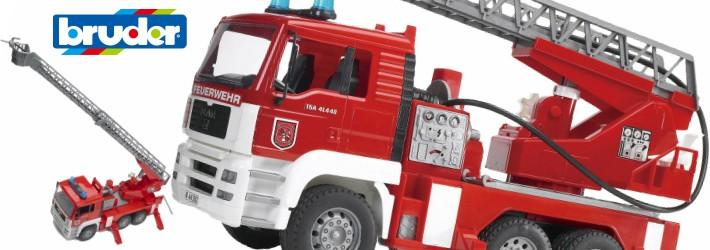 uderブルーダーMAN消防車