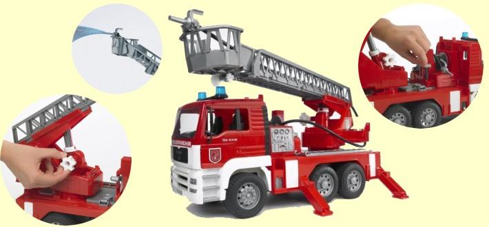 buderブルーダーMAN消防車