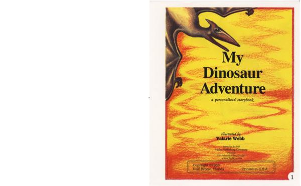 クリエイトアブック 恐竜の国での冒険2