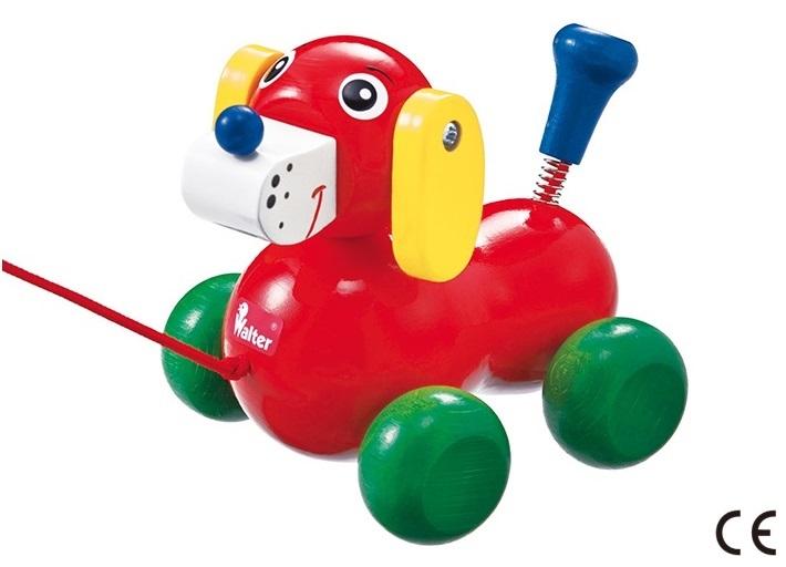 いぬのヴァルディ Hund Nachziehtiere pulltoy 引っ張るおもちゃ